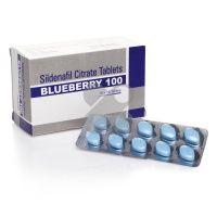 5 x confezione Bluebbery 100mg (50 compresse)