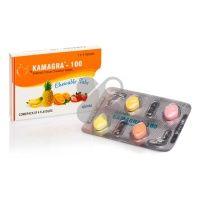 10 x confezione Kamagra chewable 100mg (40 compresse)