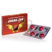 Avana 4x200mg - Avanafil tablets 200mg